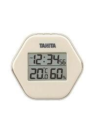 株式会社タニタ デジタル温湿度計 アイボリー TT573IV ss6