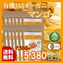 JASオーガニック認定 タイ産有機ドライマンゴー(マハチャノック種)50g 12袋 JAS Certified Organic Dried Mango (Mah...
