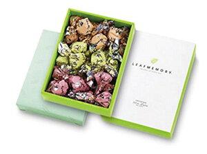 【訳あり】 モンロワール リーフメモリー ギフト ボックス 27個 お菓子 葉っぱの形 送料無料 賞味期限間近のため