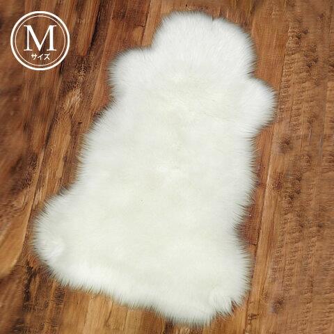 【フェイクムートンラグマット(Mサイズ)】ふかふか&もこもこのエコファーラグ。お部屋に取り入れるだけで暖かみのある印象に。 インテリア ムートンラグ ラグ ファー ホワイト グレー