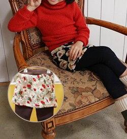 スーパーSALE・レギンス付き花柄スカート♪ボアフリース・裏起毛◎90cm・100cm・110cm・120cm・130cm・ 140cm・150cm・韓国子供服・cocostyle