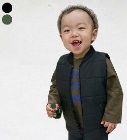ミリタリーキルティング・ベスト・90cm・100cm・110cm・120cm・130cm・韓国 子供服 ・cocostyle