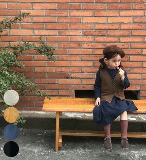【3点以上お買い上げで送料無料】【MOM有】【シンプル・ロング・ワンピース】★90cm・100cm・110cm・120cm・130cm・韓国子供服・cocostyle