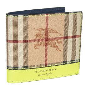 64c768b9240e バーバリー ロンドン Burberry 財布 メンズ 二つ折り財布 チェック柄 バーバリーチェック 【送料無料】