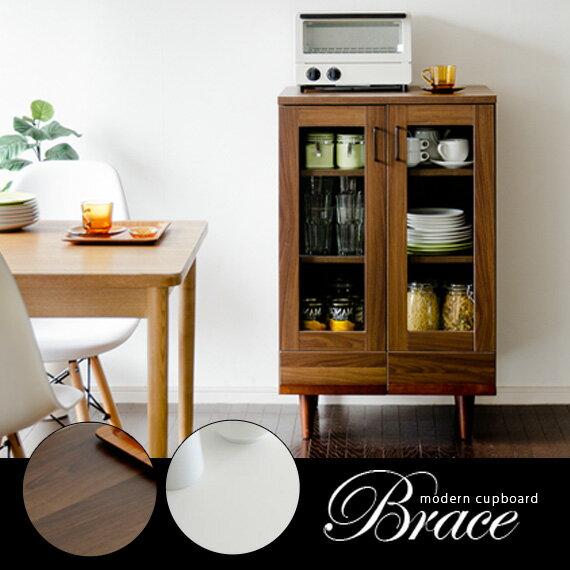 食器棚 幅60 レンジ台 キャビネット 北欧 木製 キッチンキャビネット カップボード キッチン 収納 おしゃれ モダン リビング キッチンラック キッチンボード リビングボード 白 ホワイト 引き出し レンジラック ナチュラル|木製ラック かわいい シンプル デザイン