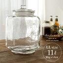 米びつ 米櫃 ジャー ガラス ライスストッカー 保存瓶 保存ビン 保存容器 フタ 透明 ギフト おしゃれ ヴィンテージ ア…