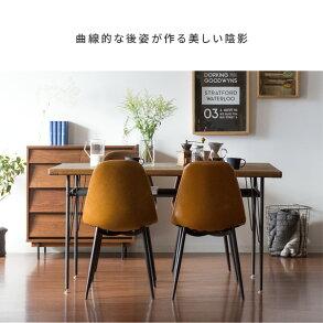 ダイニングチェア2脚セットレザー布おしゃれ椅子イス食卓椅子ヴィンテージインダストリアルブルックリンカフェ風北欧シンプルモダンデスクチェアリビングチェアチェアセットHOWARDCHAIR〔ハワードチェア〕ブラウンキャメルグリーングレー緑白