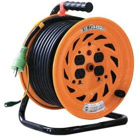 日動工業:極太(3.5mm2)電線仕様ドラム 30m NF-E34F E付