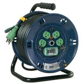 日動工業:標準型ドラム(屋内型) アース付 20m 漏電保護専用 NP-EB24