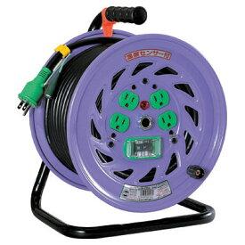 日動工業:標準型ドラム(屋内型) アース付 50m 漏電保護専用 NF-EB54
