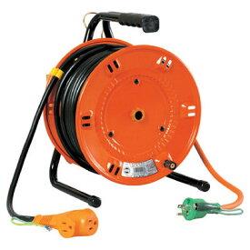 日動工業:延長コード型ドラム(びっくリール) 30m アース付 NL-E30S