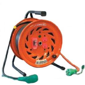日動工業:延長コード型ドラム(びっくリール) 30m アース付 RND-EK30S