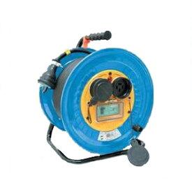 日動工業:防雨・防塵型三相200V動力用電工ドラム アース付 DNW-E320-20A
