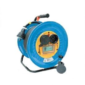 日動工業:防雨・防塵型三相200V動力用電工ドラム アース付 30m DNW-E330F-20A