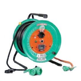 日動工業:延長コード型ドラム(びっくリール)防雨防塵型 50m RBW-E50S