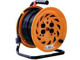 日動工業:ロック(引掛)式ドラム 30m アース付 NF-E34L-15A