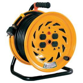 日動工業:単相200V一般型ドラム アース付 30m NF-E230-15A コードリール ドラムリール