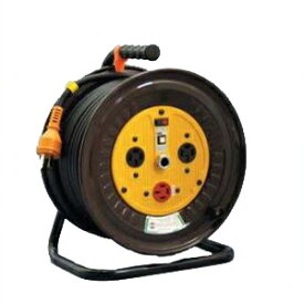 日動工業:三相200V逆転コンセント付動力用電工ドラム 30m ND-E330R-20A