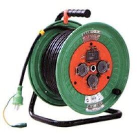 日動工業:超高感度(6mA)ブレーカ付電工ドラム 防雨型 NWH-EK33