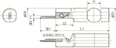 京セラ 内径加工用ホルダ(1個) S25.0GSVNR12SN 6488692