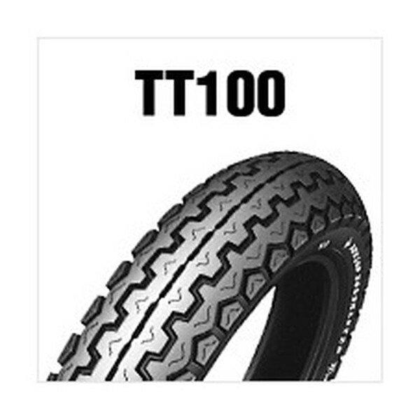 【後払い不可】DUNLOP(ダンロップ) :TT100 (FRONT REAR) 3.60H19 4PR TL 126141