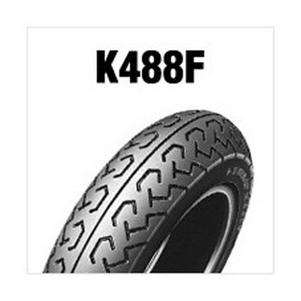 【後払い不可】DUNLOP(ダンロップ) :K488F (FRONT) 4.00-12 4PR (65J) WT 250775