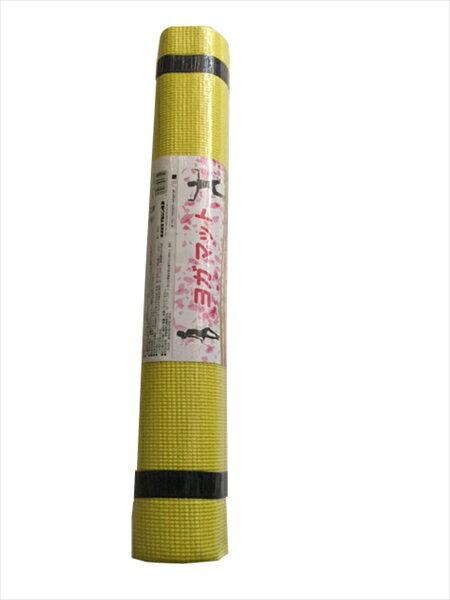 【代引不可】マルシン産業:NST-7400 ヨガマット イエロー NST-7400ye
