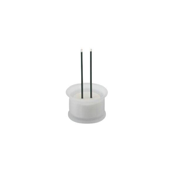 【代引不可】YSD:やよい香炉付電子線香セット (仏具ホワイト色) 4GF120A10