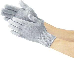 TRUSCO 静電気対策用手袋 ノンコートタイプ Mサイズ(1双) TGL2995M 3363406