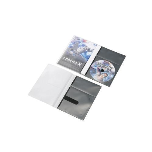 【後払い不可】ELECOM(エレコム):市販デイスク圧縮ケース/DVD/1枚収納/30枚/ブラック CCD-DPD30BK