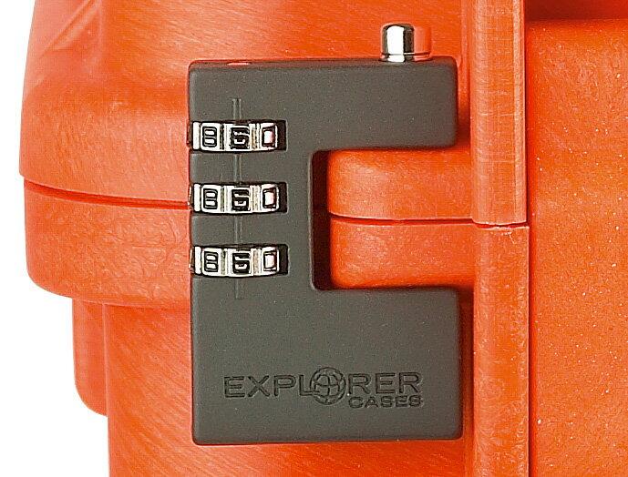 【代引不可】IDEAL(摂津金属工業):エクスプローラーケース専用 ダイヤル錠 IEX-NUMLOCK