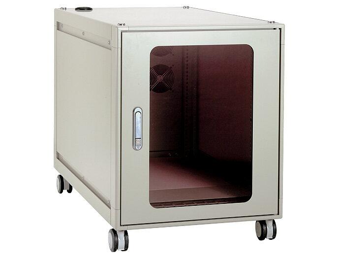 【代引不可】IDEAL(摂津金属工業):小型防音ラック WxHxD(mm)|570x730x1150 NBSD-12U57A0BK