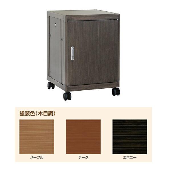 【代引不可】IDEAL(摂津金属工業):Holz ホルツ 木目調キャビネットラック チーク HOLZ-14U5760TE
