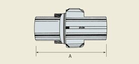 マサル工業:M式自在継手30 R2522