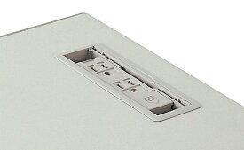 【代引不可】ナイキ:事務用デスク NED型デスク用コンセント NEK3P-2