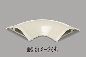 マサル工業:ガードマンR型付属品 平面マガリ 6号 チョコ GAM69