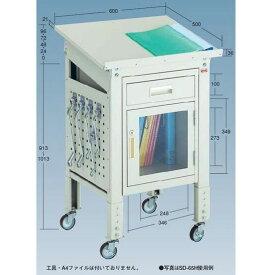 OS(大阪製罐):指示書デスク ライトグレー SD-65H