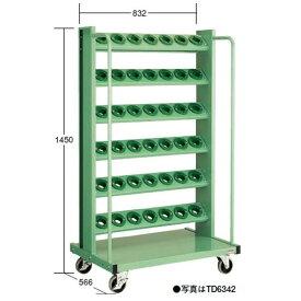 OS(大阪製罐):ツーリングタワー 移動型(HSK・NC5用) 6段 TD6342