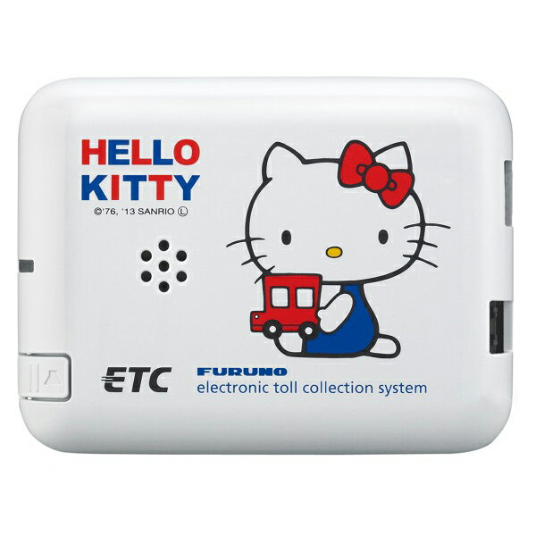 [ハローキティ アンテナ用シール付]古野電気:ETC車載器 FNK-M07T-K