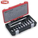 TONE(トネ):NEWソケットレンチセット 12点 差込角 12.7mm H4100MP
