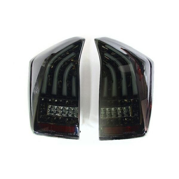 【代引不可】VALENTI(ヴァレンティ) LEDテールランプ 78LED+8LEDBAR ライトスモーク/ブラッククローム プリウス 年式 前期H21.5-H23.11/後期H23.12- 型式: ZVW30 TT30PRI-SB-1