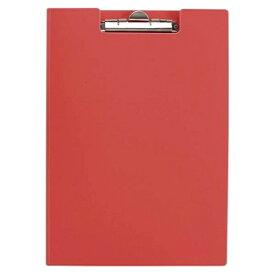 クラウン:クリップボード A4判タテ型 赤 CR-CP80-R 21717