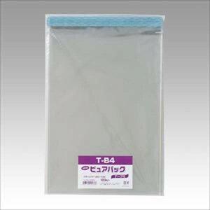 シモジマ:Nピュアパック テープ付き 100枚 B4用 サイズ:縦380×横270mm 006798328 71785
