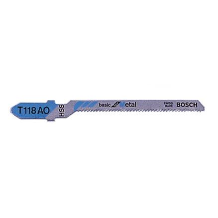 BOSCH(ボッシュ):ジグソーブレード (5本) T-118AO 000555402001