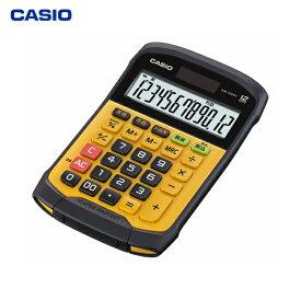 カシオ計算機(CASIO):防水・防塵電卓 イエロー WM-320MT-N