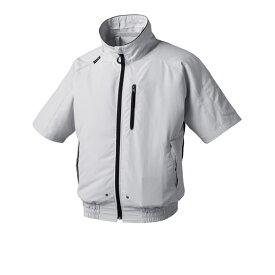 アタックベース:空調風神服半袖ブルゾン グレーL 055