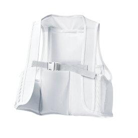 アタックベース:空調風神服ストレッチメッシュベスト グレー3L 008