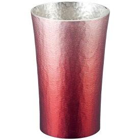 大阪錫器:錫製タンブラー200ml (赤(HOKAGE)) 16-1-1RD