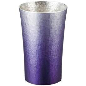 大阪錫器:錫製タンブラー200ml (紫(SHINRA)) 16-1-1PR