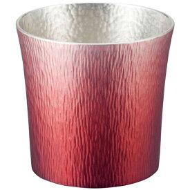 大阪錫器:錫製タンブラー 310ml (赤(HOKAGE)) 24-2-1RD